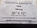 "Hair Weaving Net (36"" X 72""/ one sheet)"