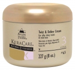 KeraCare Natural Textures Twist and Define Cream 8oz
